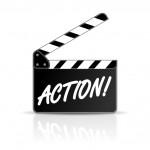 action filmklappe